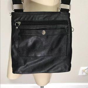 c12d7e14ca Tyler Rodan Bags - Tyler Rodan Black Crossbody Messenger Bag Wallet